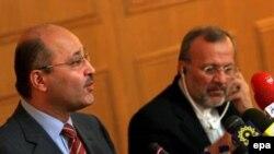 نائب رئيس الوزراء العراقي برهم صالح
