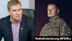 Заступник міністра Авакова Вадим Троян та народний депутат України Андрій Білецький