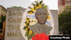 Габдулла Тукай һәйкәле Анкарада 2011 елның 26 маенда ачылды