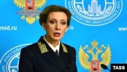 Марія Захарова, архівне фото