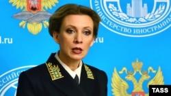 ماریا زخارووا سخنگوی وزارت امور خارجه روسیه