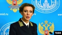 Rusiya XİN-nin sözçüsü Maria Zakharova, Moskva, 10 fevral 2016