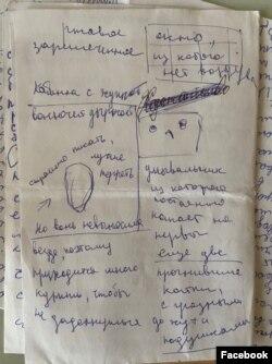 Записки из спецприемника активистки Веры Олейниковой