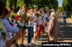 Ланцуг салідарнасьці мэдыкаў, 13 жніўня