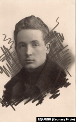 Кузьма Чорны. 1925 г. З фондаў БДАМЛМ.