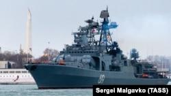 Корабель ввійшов у Чорне море 9 січня