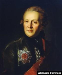 Александр Петрович Сумароков. Портрет работы Федора Рокотова. 1777