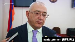 Глава ЦИК Армении Тигран Мукучян
