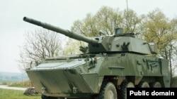 Avstriya istehsalı olan piyadaların döyüş maşını - Pandur II 8x8