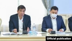 Азизбек Алымкулов жана Азиз Суракматов. 2020-жыл
