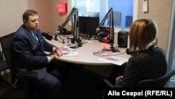 Pavel Postică și Alla Ceapai, în studioul EL