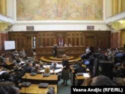 Sednica parlamentarnog odbora za Kosovo, novembar 2011.