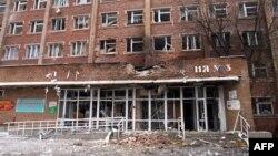 Наслідки обстрілу лікарні на Донбасі, ілюстраційне фото