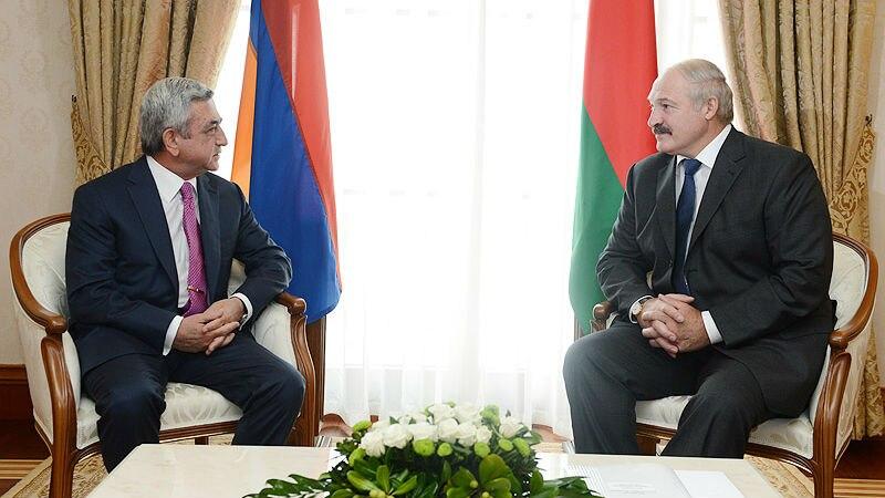 Բելառուսի նախագահը շնորհավորել է Սերժ Սարգսյանին