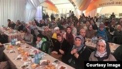 Гости не только ужинали, но и участвовали в обширной культурной программе