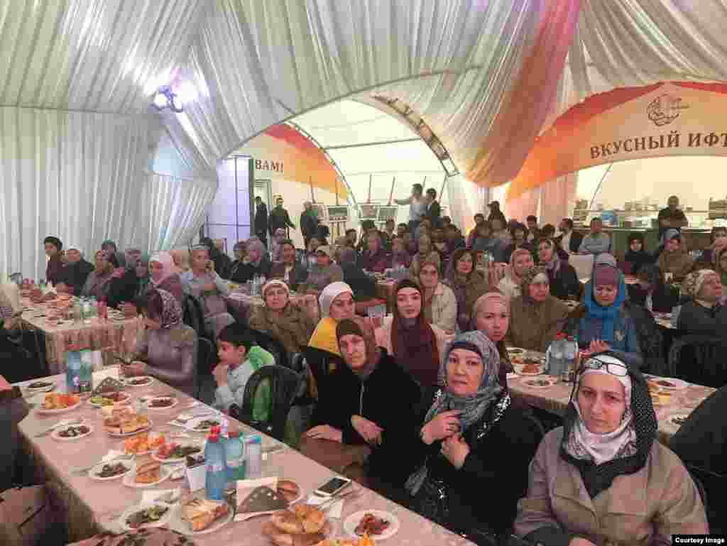 Мәскәүнең Мемориал мәчетендәге Рамазан чатырында Төньяк Осетия көне