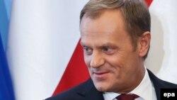 На снимке: премьер-министр Польша Дональд Туск