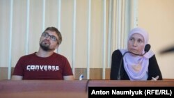 Нариман Мемедеминов в суде, архивное фото
