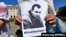 Акції на підтримку Олега Сенцова відбуваються по всьому світу