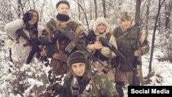 Марк Воржев разом з іншими озброєними бойовиками