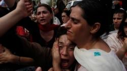 د کرک پېښې پرضد پېښور کې د نرښځیانو احتجاج
