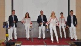 Ţinuta olimpică a echipei R. Moldova