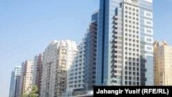 Новые здания в Баку. Иллюстративное фото