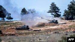 Turska vojska u graničnom području prema Siriji
