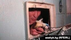 Inmates staged hunger strikes in Bishkek in December.