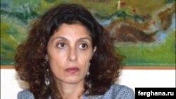 На фото – Розария Пульизи, глава Офиса связи НАТО в Центральной Азии.