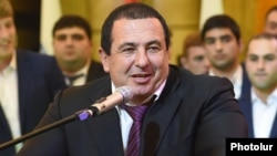 Prosperous Armenia party leader Gagik Tsarukian (file photo)