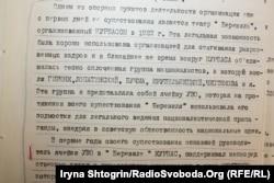 Свідчення проти Курбаса із архівної справи КДБ