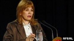 Gordana Đurović, Foto: Savo Prelević