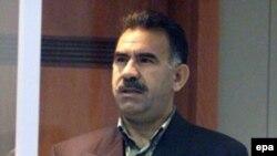 Kurdish rebel leader, Abdullah Ocalan