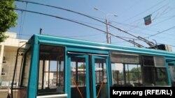 Троллейбус в Симферополе, архивное фото
