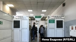 Зона паспортного контроля. Въезд в Китай