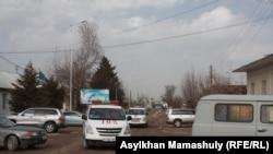 Село Ынтымак Сарыагашского района Южно-Казахстанской области (ЮКО).