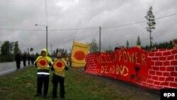 7 марта австрийские экологи на три часа заблокировали четыре пограничных пункта на чешско-австрийской границе