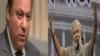 Pakistani Prime Minister Nawaz Sharif and incoming Indian Prime Ministet Narendra Modi. (file photo)