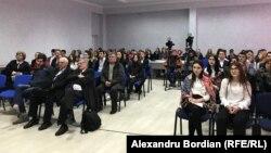 La dezbaterea organizată de Europa Liberă la Orhei