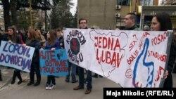 Protesti u BiH, 10. februar 2014.