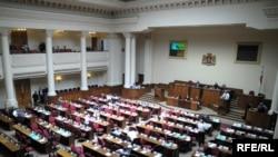 Проект представил депутатам министр юстиции Зураб Адеишвили