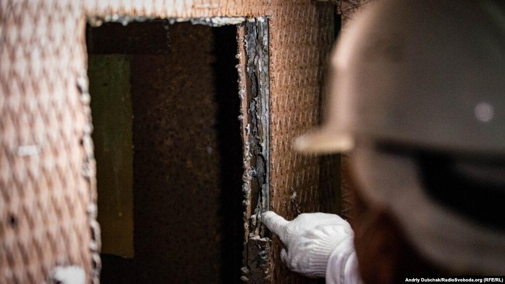 Свинець у стінках «будки дозиметриста»