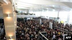 Եգիպտոս – Կահիրեի օդանավակայան, 31-ը հունվարի, 2011թ.