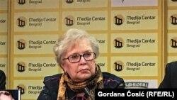 Zastupnica radikalnih prosrpskih stavova: Jelena Guskova