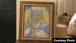 Gülnara Kerimowanyň öýünde tapylan eserler, Ženewa, özbek dissidentleriniň alan suratlary.