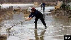 Поплави во Чешиново-Облешево.