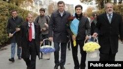 Мустафа Джемилев, Сергей Костинский, Ахтем Сейтаблаев, Рефат Чубаров
