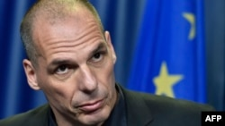 Грекия қаржы министрі Янис Варуфакис.