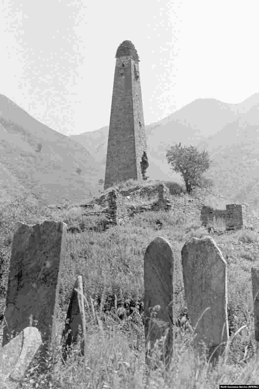 Боевая башня в селении Моцарой